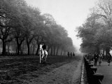 Rider on Horseback in Hyde Park Photographic Print by Bill Brandt