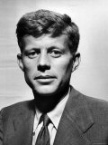 Portrait of John F. Kennedy Premium Photographic Print by Al Fenn