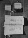 Voting Register For Election of Mayor Premium Photographic Print by John Florea