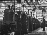 Tractor Plant in Minsk Premium Photographic Print by Stan Wayman