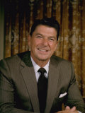 Portrait California Governor Ronald Reagan Photographic Print by Alfred Eisenstaedt