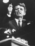 Senator Robert F. Kennedy Speaking at the University of Mississippi Reproduction photographique par Francis Miller