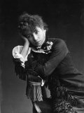 Portrait of Actress Sarah Bernhardt, c.1878 Photographic Print by Paul Nadar