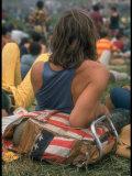 Woodstock Fotografie-Druck von Bill Eppridge