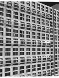 Windows of Apartment Building on Michigan Avenue Premium Photographic Print by Walker Evans