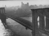 The Brooklyn Bridge Photographic Print by Arthur Schatz