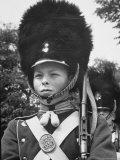 Young Boy Dressed Up as Tivoli Guard Resembling a Nut Cracker Premium Photographic Print by Carl Mydans