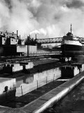 River Rouge, on Which the Ford River Rouge Plant is Situated Premium Photographic Print by Walker Evans