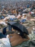 Woodstock Premium Photographic Print by Bill Eppridge
