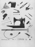Sewing Tools Fotografisk tryk af Al Fenn