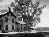 Old Brick Farmhouse Photographic Print by Alfred Eisenstaedt
