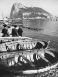 Shot of the Rock of Gibraltar Photographic Print by Ralph Crane