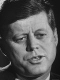 President John F. Kennedy Premium Photographic Print by Art Rickerby