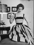 Small Bag Wardrobe Fashion Premium Photographic Print by Gordon Parks
