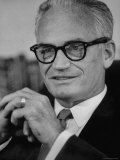 Senator Barry M. Goldwater Premium Photographic Print by Joe Scherschel