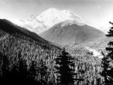 Mt. Rainier in Southwest Washington Premium Photographic Print by J. R. Eyerman