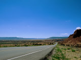 State Road 96 Near Abiquiu, New Mexico Fotoprint van James P. Blair