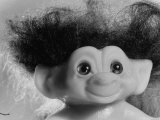 "Three Inch Troll Doll Called ""Dammit"" Sold by Scandia House Enterprises Photographic Print by Ralph Morse"