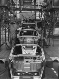 Volkswagen Plant Assembly Line Photographic Print by James Whitmore