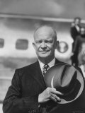 President Dwight D. Eisenhower Premium Photographic Print by Hank Walker