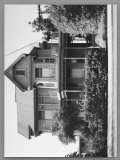 Wooden House in Bunker Hill Section of Los Angeles Premium Photographic Print by Walker Evans