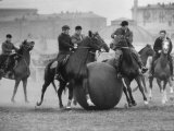 Push Ball Game at the Hippodrome Stadium Premium Photographic Print by Howard Sochurek
