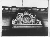 Ornate Sculptural Exterior Clock on Neo Classical Facade of Penn Station, Soon to Be Demolished Premium Photographic Print by Walker Evans