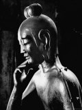 Statue of Kwan Yin, Buddhist Impersonation of Wisdom and Compassion Photographic Print by Howard Sochurek