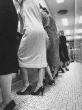 Women Wearing Chemise Dresses Premium Photographic Print by Al Fenn