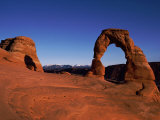 Delicate Arch of Arches National Monument in Moab Photographic Print by Barry Tessman