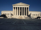 Exterior View of the Supreme Court, Washington, D.C. Photographic Print by Medford Taylor