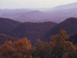 Autumn in the Blue Ridge Mountains, Virginia Fotografie-Druck von Medford Taylor