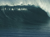 A Powerful Wave, or Jaws, off the North Shore of Maui Island Fotografisk trykk av Patrick McFeeley