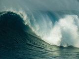 A Powerful Wave, or Jaws, off the North Shore of Maui Island Photographic Print by Patrick McFeeley