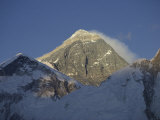 Mount Everest Standing at 29,028 Feet, Nepal Photographic Print by Michael S. Lewis