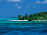 A View of One of the Islands off of the Coast of Belize Photographic Print by Wolcott Henry