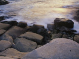 Surf and Rocks, Nova Scotia, Canada Photographic Print by Michael S. Lewis