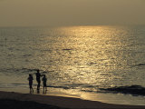 Surf Fishing at Dusk Photographic Print by Medford Taylor
