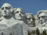 A Close View of Mount Rushmore Photographic Print by Paul Damien