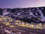Vista sobre la I-70, Vail, Colorado Lámina fotográfica por Michael S. Lewis
