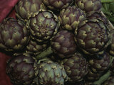 Artichokes at a Market in Provence Photographic Print by Nicole Duplaix