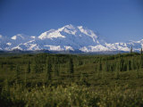 View of the Tallest Mountain in North America, Mt. Mckinley Photographic Print by Stacy Gold