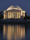 Jefferson Memorial, Night View Photographic Print by Richard Nowitz