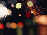 Fireworks Photographic Print by David Boyer