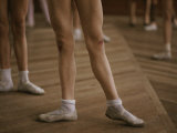 A Scuffed Knee is Testament to a Dancers Dedication to Practice Photographic Print by Jodi Cobb