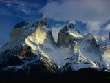 Scenic View of the Cordillera De Paine Photographic Print by George F. Mobley