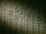 Egyptian Hieroglyphics Decorate the Walls of the Tomb of King Pepi I Photographic Print by Kenneth Garrett