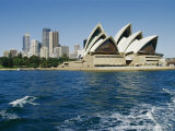View of the Sydney Opera House and Sydney Harbor Photographic Print by Nicole Duplaix