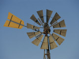 A Windmill on a Farm in the Outback Photographic Print by Nicole Duplaix
