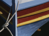 The Brightly Colored Bow of a Boat, Docked at Collioure, France Photographic Print by Stacy Gold